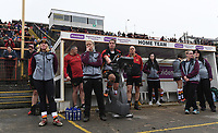 Picture by Anna Gowthorpe/SWpix.com - 15/04/2018 - Rugby League - Womens Super League - Bradford Bulls v Leeds Rhinos - Coral Windows Stadium, Bradford, England - The Bradford Bulls team bench