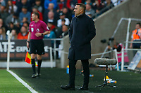 Swansea City manager Carlos Carvalhal during the Premier League match between Swansea City and Southampton at Liberty Stadium, Swansea, Wales, UK. Tuesday 08 May 2018