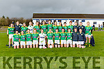 The Kerry team that played Dublin in the NFL in Castleisland on Sunday