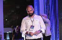 SAO PAULO, SP - 12.02.2019 - CAMPUS PARTY - O prefeito de S&atilde;o Paulo, Bruno Covas participa de cerim&ocirc;nia de abertura oficial da Campus Party Brasil nesta ter&ccedil;a-feira (12) Expo Center Norte na zona norte de Sao Paulo.<br /> <br /> <br /> (Foto: Fabricio Bomjardim / Brazil Photo Press / Folhapress)