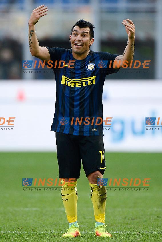 Gary Medel Inter<br /> Milano 25-09-2016 Stadio Giuseppe Meazza - Football Calcio Serie A Inter - Bologna. Foto Giuseppe Celeste / Insidefoto