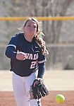 March 7, 2012:   Nevada Wolf Pack pitcher Bailey Brewer throws against the Sacramento State Hornets during their NCAA softball game played at Christina M. Hixson Softball Park on Wednesday in Reno, Nevada.