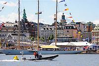 Sweden, Stockholm. Center of Stockholm, Slussen.