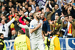 Real Madrid's Karim Benzema during Champions League match between Real Madrid and Borussia Dortmund  at Santiago Bernabeu Stadium in Madrid , Spain. December 07, 2016. (ALTERPHOTOS/Rodrigo Jimenez)