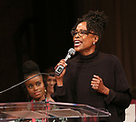 Charlayne Woodard on stage at the The Lilly Awards  at Playwrights Horizons on May 22, 2017 in New York City.
