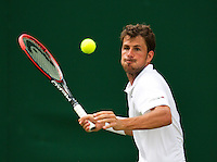 England, London, 23.06.2014. Tennis, Wimbledon, Robin Haase (NED) <br /> Photo: Tennisimages/Henk Koster