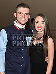 Killian Shevlin celebrating his 18th birthday in The Thatch with cousin Aimee Dyer. Photo:Colin Bell/pressphotos.ie