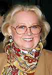 Barbara Cook attending the Opening Night Performance of THE APPLE TREE at Studio 54 in New York City.<br />