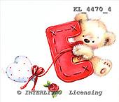 Interlitho, VALENTINE, VALENTIN, paintings+++++,KL4470/4,#v# stickers ,everyday