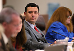 Nevada Assemblyman Stephen Silberkraus, R-Henderson, works in committee at the Legislative Building in Carson City, Nev., on Tuesday, March 3, 2015. <br /> Photo by Cathleen Allison