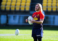 Faf de Klerk during the Rugby Championship South Africa Springboks captain's run training session at Westpac Stadium in Wellington, New Zealand on Friday, 26 July 2019. Photo: Dave Lintott / lintottphoto.co.nz