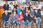 25TH BIRTHDAY: Micheal Stanley, Lyrecompane (seated 4th left) enjoying his 25th birthday with family and friends at John Mitchels GAA club on Saturday.   Copyright Kerry's Eye 2008