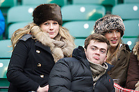 Fans enjoying the action during the 131st Varsity Match between Oxford University and Cambridge University at Twickenham on Thursday 06 December 2012 (Photo by Rob Munro)