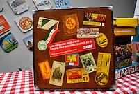 SAO PAULO, SP, 10 DE JULHO 2012 - Em comemoracao ao Dia da Pizza, e inaugurada a Exposicao de Pizzas no Anhembi. O evento conta com novas maquinas e produtos para pizzarias, alem de workshops e degustacao de pizzas o dia todo. E gratis e fica ate dia 11 de julho. (FOTO: THAIS RIBEIRO / BRAZIL PHOTO PRESS).