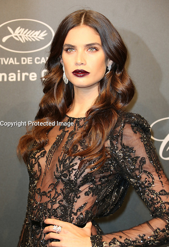 SARA SAMPAIO<br /> Chopard Space Party Photocall The 70th Cannes Film Festival<br /> CANNES FRANCE MAY 19