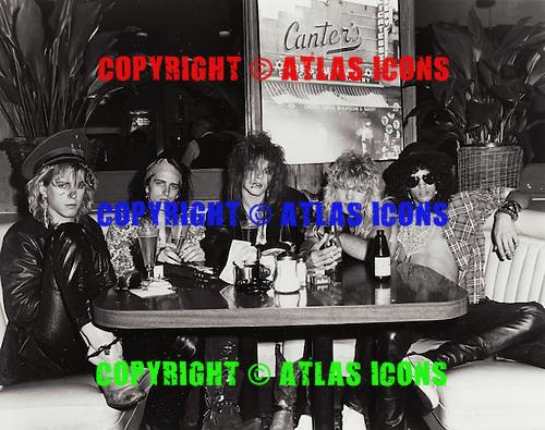 GUNS N ROSES, LOCATION, 1985 JACK LUE