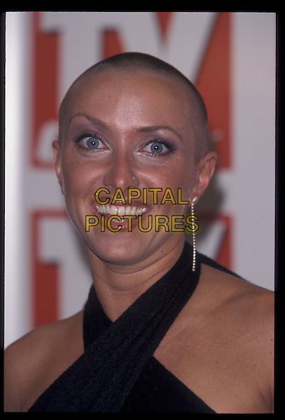 NICHOLA - BIG BROTHER.04 September 2000.Ref: 9971.headshot, portrait, shaved head.*RAW SCAN- photo will be adjusted for publication*.www.capitalpictures.com.sales@capitalpictures.com.©Capital Pictures