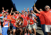 Philadelphia, PA - Tuesday June 14, 2016: Fans prior to a Copa America Centenario Group D match between Chile (CHI) and Panama (PAN) at Lincoln Financial Field.