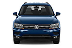 Car photography straight front view of a 2019 Volkswagen Tiguan Confrontline-business  5 Door SUV