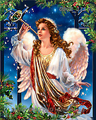 Dona Gelsinger, CHRISTMAS SANTA, SNOWMAN, classical, paintings, USGE1116,#X# Weihnachtsmänner, Papá Noel, Weihnachten, Navidad, illustrations, pinturas klassisch, clásico