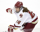 Meagan Mangene (BC - 24) is the sister of Maine Black Bear Matt Mangene. - The Boston College Eagles defeated the visiting Brown University Bears 5-2 on Sunday, October 24, 2010, at Conte Forum in Chestnut Hill, Massachusetts.
