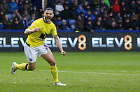 Blackburn Rovers' Craig Conway celebrates scoring his side's first goal <br /> <br /> Photographer David Shipman/CameraSport<br /> <br /> The EFL Sky Bet Championship - Sheffield Wednesday v Blackburn Rovers - Saturday 16th March 2019 - Hillsborough - Sheffield<br /> <br /> World Copyright &copy; 2019 CameraSport. All rights reserved. 43 Linden Ave. Countesthorpe. Leicester. England. LE8 5PG - Tel: +44 (0) 116 277 4147 - admin@camerasport.com - www.camerasport.com
