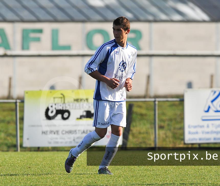 FC Eendracht Kuurne : Jens Vandemeulebroucke.foto VDB / BART VANDENBROUCKE