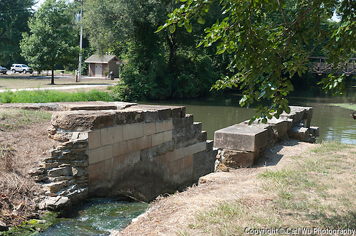 Aux Sable Aquaduct at Lock #8 on the Illinois & Michigan Canal