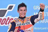 Aragon 24-09-2017 Moto Gp Spain photo Luca Gambuti/Image Sport/Insidefoto <br /> nella foto: Marc Marquez winner