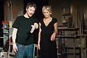 "London, UK. 26.06.2012. ""Chicken"", starring Lisa Maxwell and Craig Kelly opens at the Trafalgar Studios. Picture shows:  Craig Kelly and Lisa Maxwell. Photo credit: Jane Hobson."