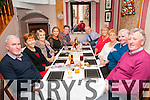New Year's Eve: Celebrating the new year at Mai Fitz's Restaurant, Listowel were Stevie, Ann & Jean Carmody, Amy Walsh, Damian & Mike Carmody, Anna Deegan, Collette Walsh, Pat Walsh & Pat Carmody.