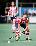 AMSTELVEEN - Mila Muyselaar (HDM)   Hoofdklasse competitie dames, Hurley-HDM (2-0) . FOTO KOEN SUYK
