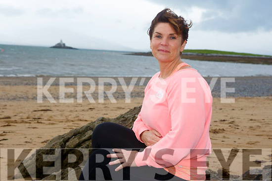 Elaine Burrows Dillane, first woman to swim Fenit to Blennerville