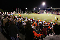 UVa soccer at Klockner stadium.
