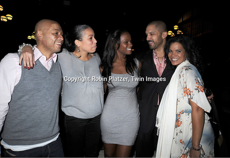 JR Martinez, Daphnee Duplaix, Tika Sumpter, Terrell Tilford and January LaVoy