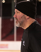 Scott Borek (PC - Associate Head Coach) - The Providence College Friars practiced on the rink at Fenway Park on Friday, January 6, 2017.