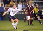 1 December 2006: Notre Dame's Brittany Bock. The University of Notre Dame Fighting Irish defeated Florida State Seminoles 2-1 at SAS Stadium in Cary, North Carolina in an NCAA Division I Women's College Cup semifinal game.