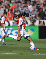 Chivas USA defender Claudio Suarez (2) clears the ball. DC United defeated Chivas USA 2-1, at RFK Stadium in Washington DC, Sunday May 6, 2007.