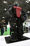July 30, 2010 - Tokyo, Japan - ViSion 4G robot created by the Japanese company Vstone Co.,Ltd. is displayed during Robotech at Tokyo Big Sight, Japan, on July 30, 2010. ViSion 4G stands 44.5cm tall, weighs 3.2kg, two cameras to help with object detection. won the Humanoid League cup in 2007 and the Robo Cup 2007 Best Humanoid tittle.
