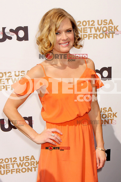Maggie Lawson attends USA Network's 2012 Upfront Event at Lincoln Center's Alice Tully Hall in New York, 17.05.2012.  Credit: Rolf Mueller/face to face /MediaPunch Inc. ***FOR USA ONLY***