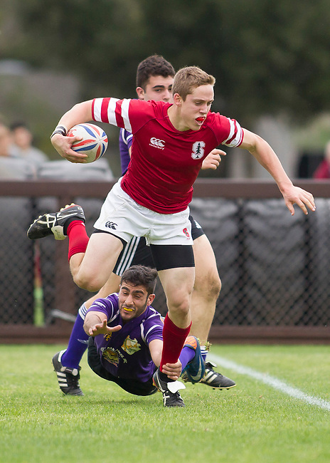 Stanford Men's Rugby vs. San Francisco State at Steuber Rugby Stadium, March 1, 2014