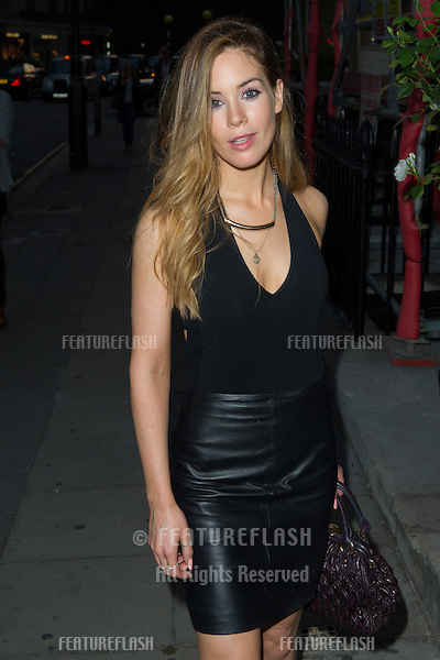 Roxanne Mckee at the launch party for the Taylor Morris Eyewear Range, Chelsea, London. 05/09/2013 Picture by: Dave Norton / Featureflash