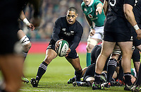19th November 2016 | IRELAND vs NEW ZEALAND<br /> <br /> Aaron Smith during the Autumn Series International clash between Ireland and New Zealand at the Aviva Stadium, Lansdowne Road, Dublin,  Ireland. Photo by John Dickson/DICKSONDIGITAL