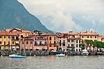Menaggio waterfront on Lake Como, Italy
