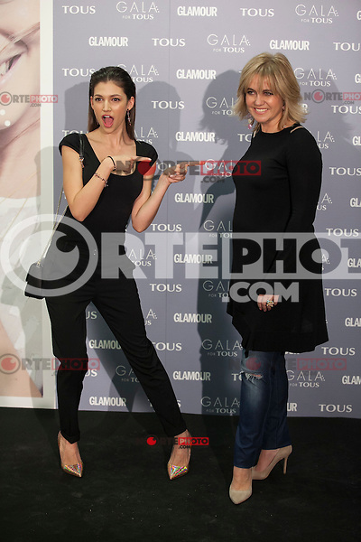 Ursula Tous and Rosa Tous pose for the photographers during TOUS presentation in Madrid, Spain. January 21, 2015. (ALTERPHOTOS/Victor Blanco) /NortePhoto<br />