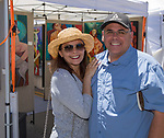Donna and Rich during Art Fest on Saturday June 30, 2018 in downtown Reno.