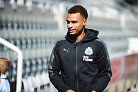 Jacob Murphy of Newcastle United arrives during Newcastle United vs Tottenham Hotspur, Premier League Football at St. James' Park on 13th August 2017