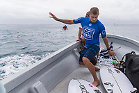 NAMOTU, Fiji (Sunday, June 4, 2017) -  The world&rsquo;s best surfers have arrived in the South Pacific for Stop No. 5 on the 2017 World Surf League (WSL) Championship Tour (CT), the Outerknown Fiji Pro and they went straight into first day action with Round 1 of the men's called on for an 8am start.  <br /> <br /> The delayed final of the Outerknown Fiji Women&rsquo;s Pro was run prior to the start of the Men's Round 1 with California&rsquo;s Courtney Conlogue (USA) taking the win over Hawaii&rsquo;s Tatiana Weston-Webb (HAW)<br /> <br /> The 2017 World Title the race for the men is closer than ever heading into Fiji with only 300 points separating No. 1 on the Jeep Leaderboard, John John Florence (HAW), from 2015 WSL Champion Adriano de Souza (BRA), and 2017 World Title contenders Jordy Smith (ZAF) and Owen Wright (AUS). <br /> <br /> <br /> Photo: joliphotos.com