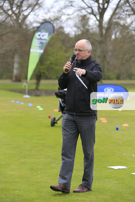 regional Finalists hone their skills at the national finals of the Dubai Duty Free Irish Open Skills Challenge supported by Bank of Ireland at the GUI National Golf Academy, Carton House, Maynooth, Co Kildare. 24/04/2016.<br /> Picture: Golffile   Fran Caffrey<br /> <br /> <br /> All photo usage must carry mandatory copyright credit (&copy; Golffile   Fran Caffrey)