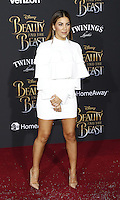 www.acepixs.com<br /> <br /> March 2 2017, LA<br /> <br /> Liz Hernandez arriving at the premiere of Disney's 'Beauty And The Beast' at the El Capitan Theatre on March 2, 2017 in Los Angeles, California.<br /> <br /> By Line: Famous/ACE Pictures<br /> <br /> <br /> ACE Pictures Inc<br /> Tel: 6467670430<br /> Email: info@acepixs.com<br /> www.acepixs.com